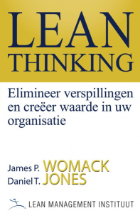 Book cover of Lean Thinking (James Womack and Daniel Jones)